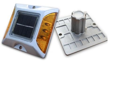 หมุดโซล่าเซล อลูมิเนียม หลอด LED